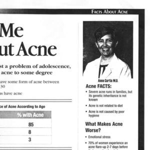 Dr Anne Curtis - Ask me about acne