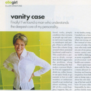Ellen Vanstone from Elle Magazine talks about The Great Dr.Dan and Dermatology on Bloor